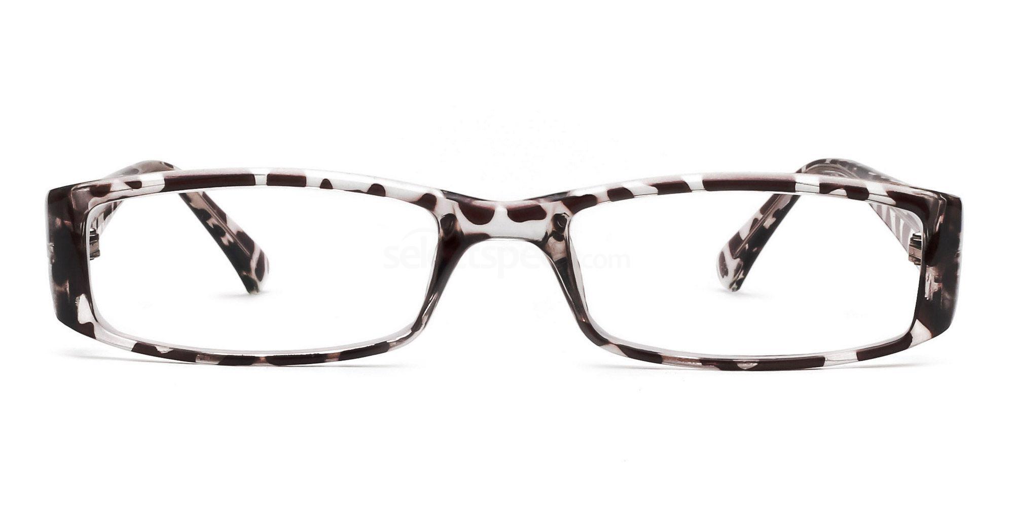 C03 P2251 - Animal Print Glasses, Savannah