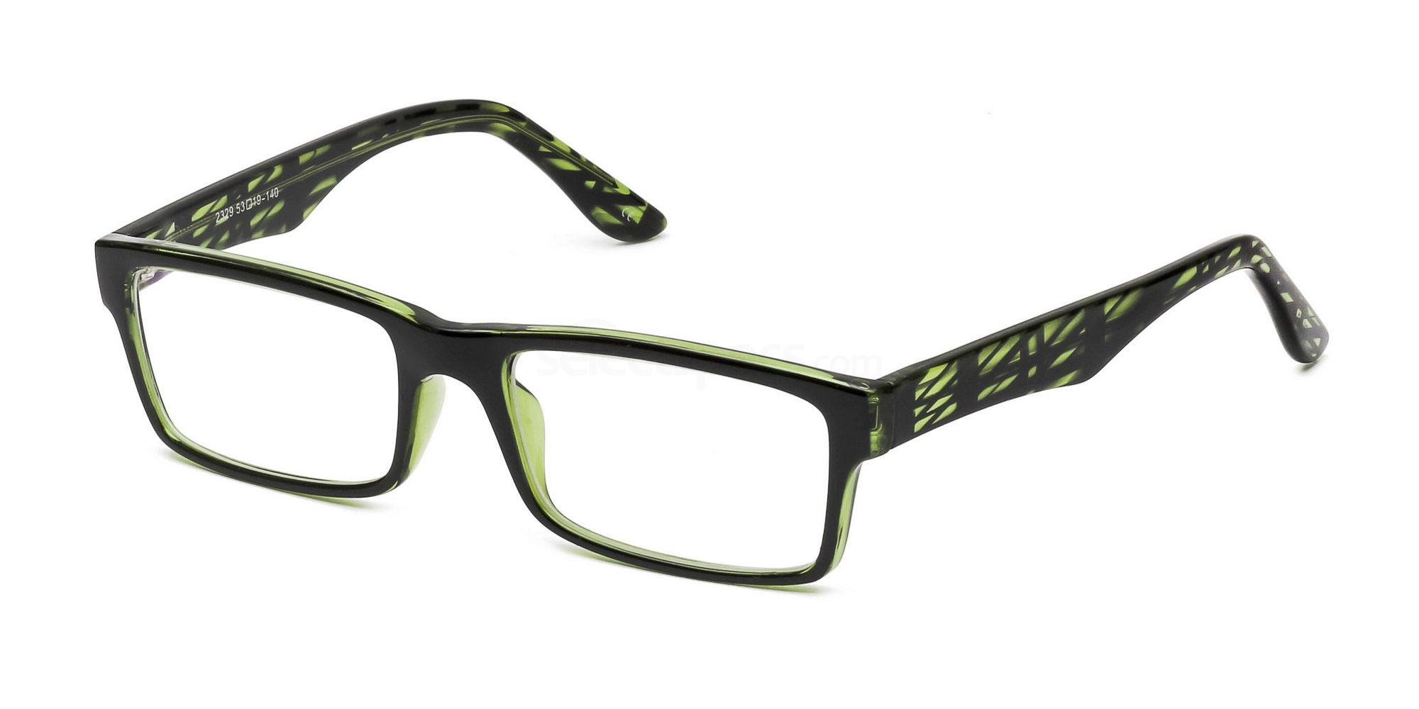 Dark Green P2329 - Green Glasses, Savannah