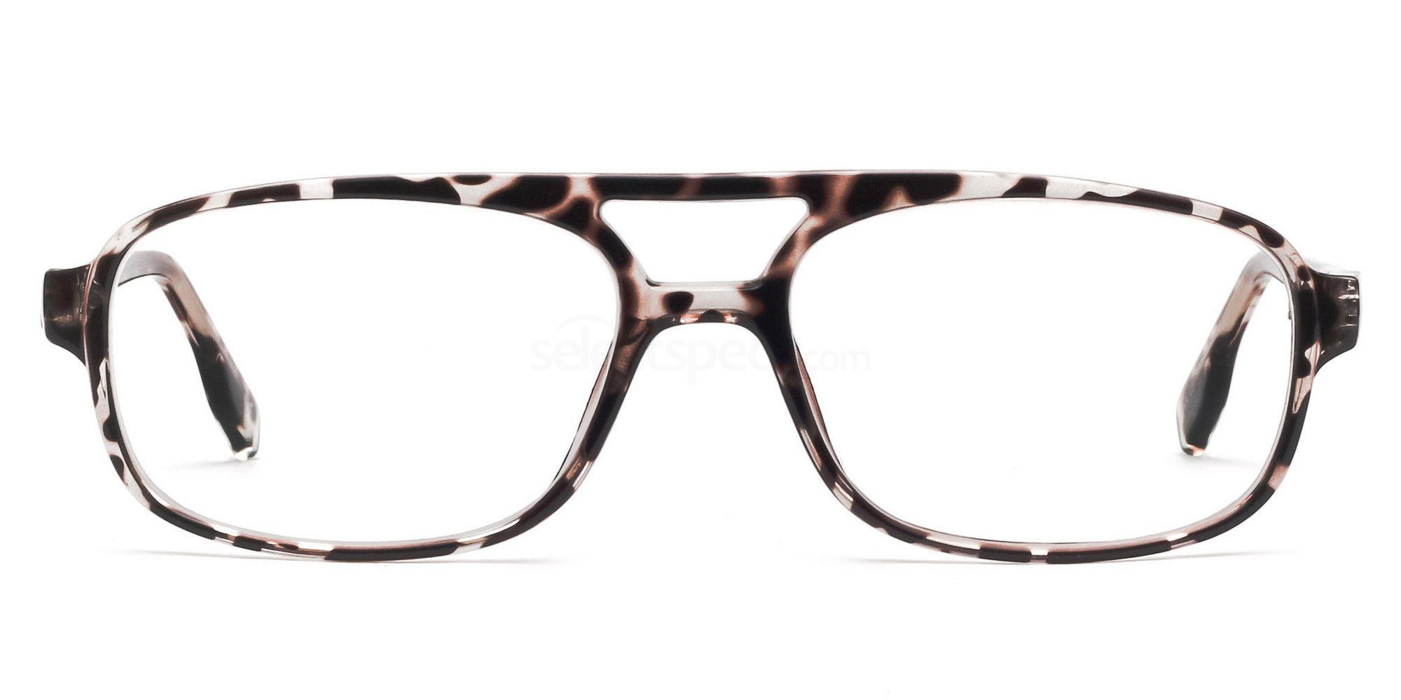 C3 P2395 - Animal Print Glasses, Savannah