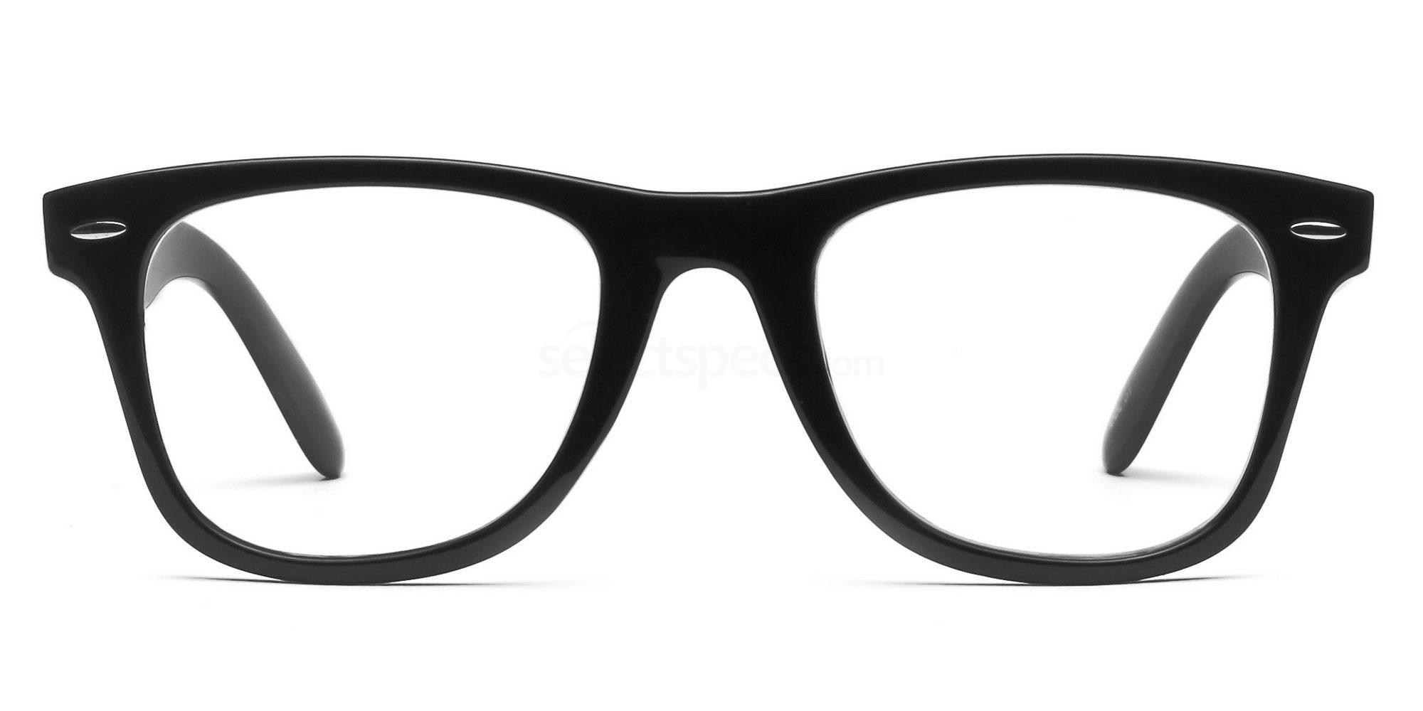 Black P2429 - Black Glasses, Savannah