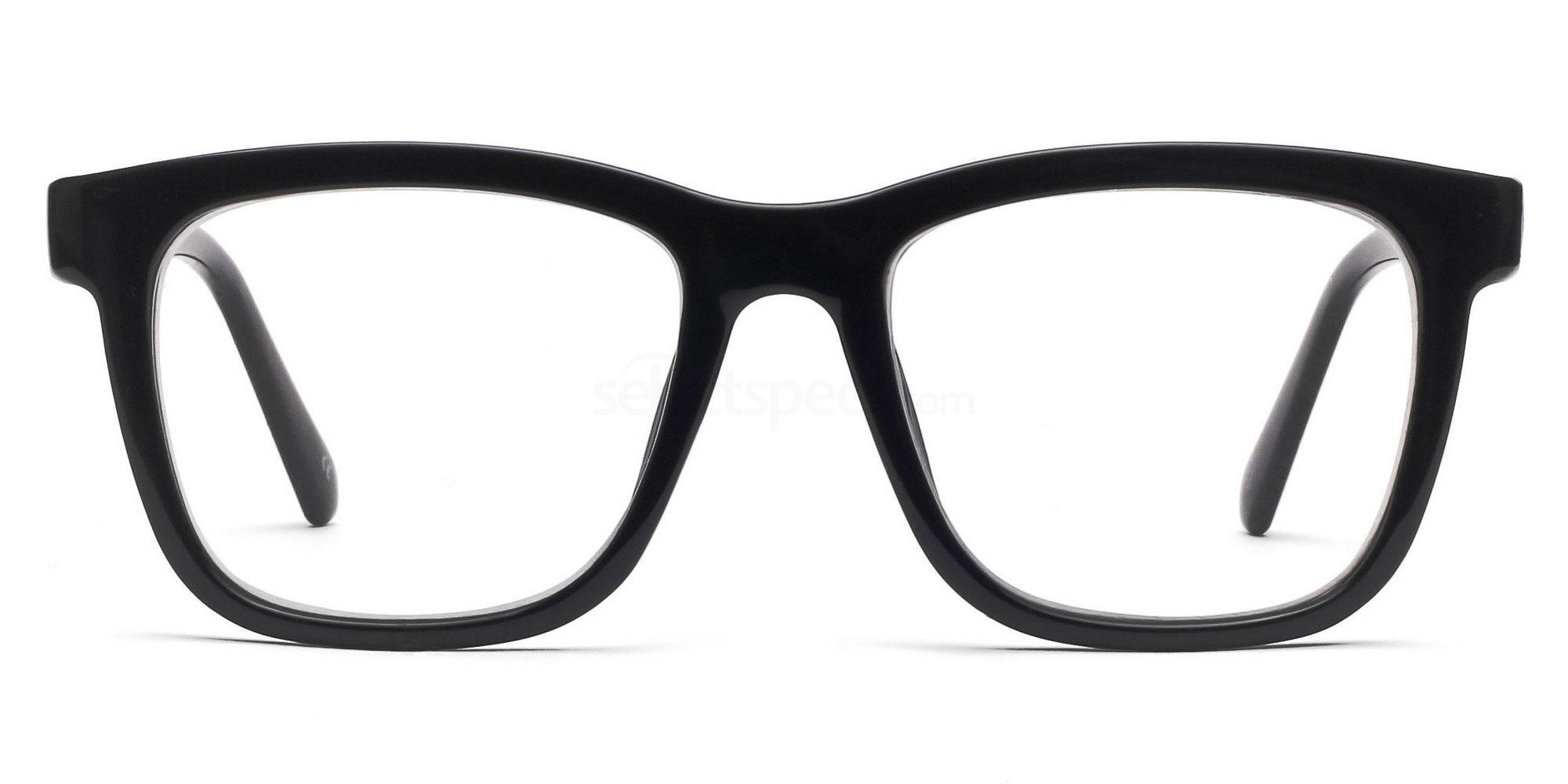COL.01 2444 - Black Glasses, Savannah