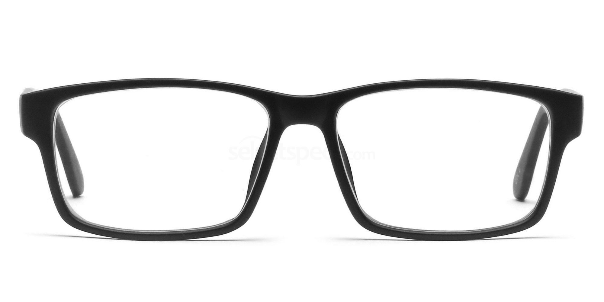 COL.02 2376 - Black Glasses, Savannah