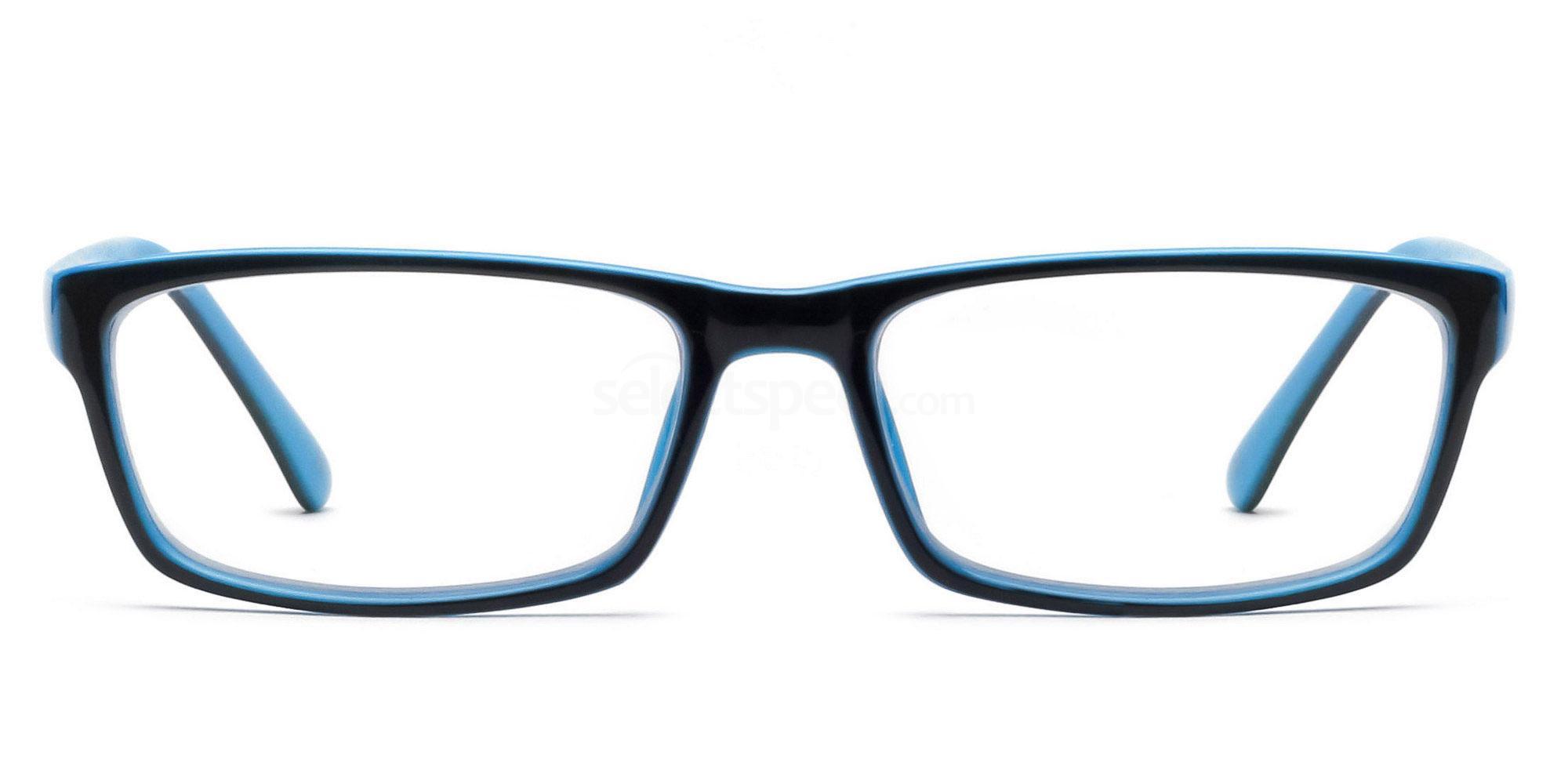 COL.25 2426 - Black and Blue Glasses, Savannah