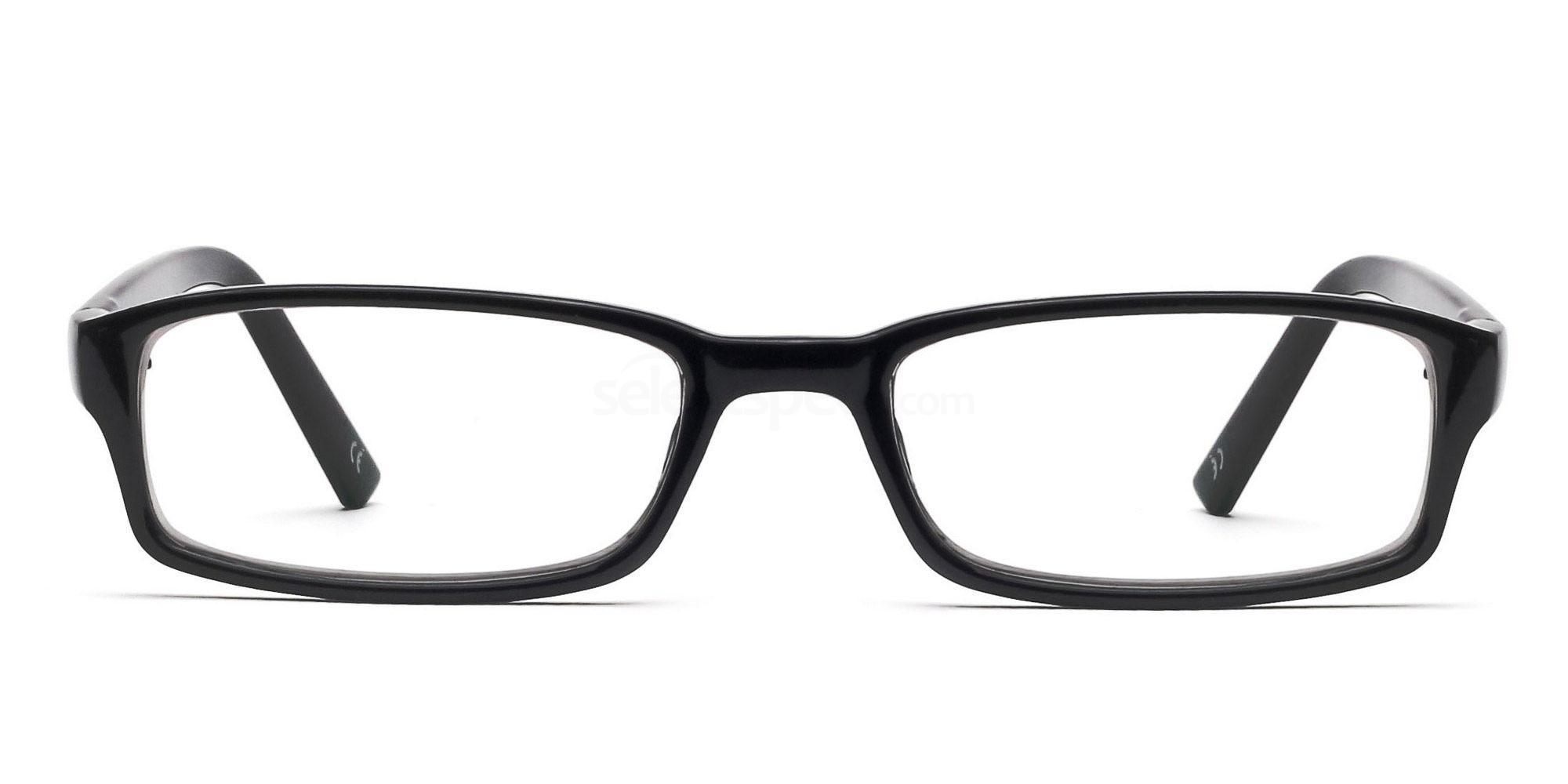 COL.01 2264 - Black Glasses, Savannah