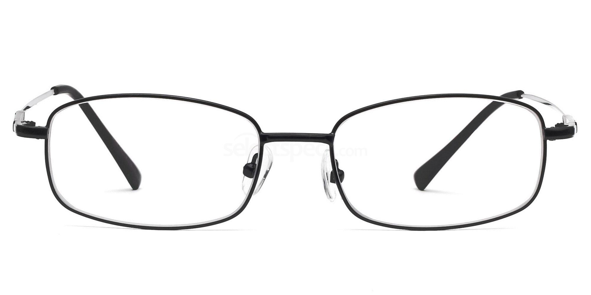 Black 8052 - Black Glasses, Savannah