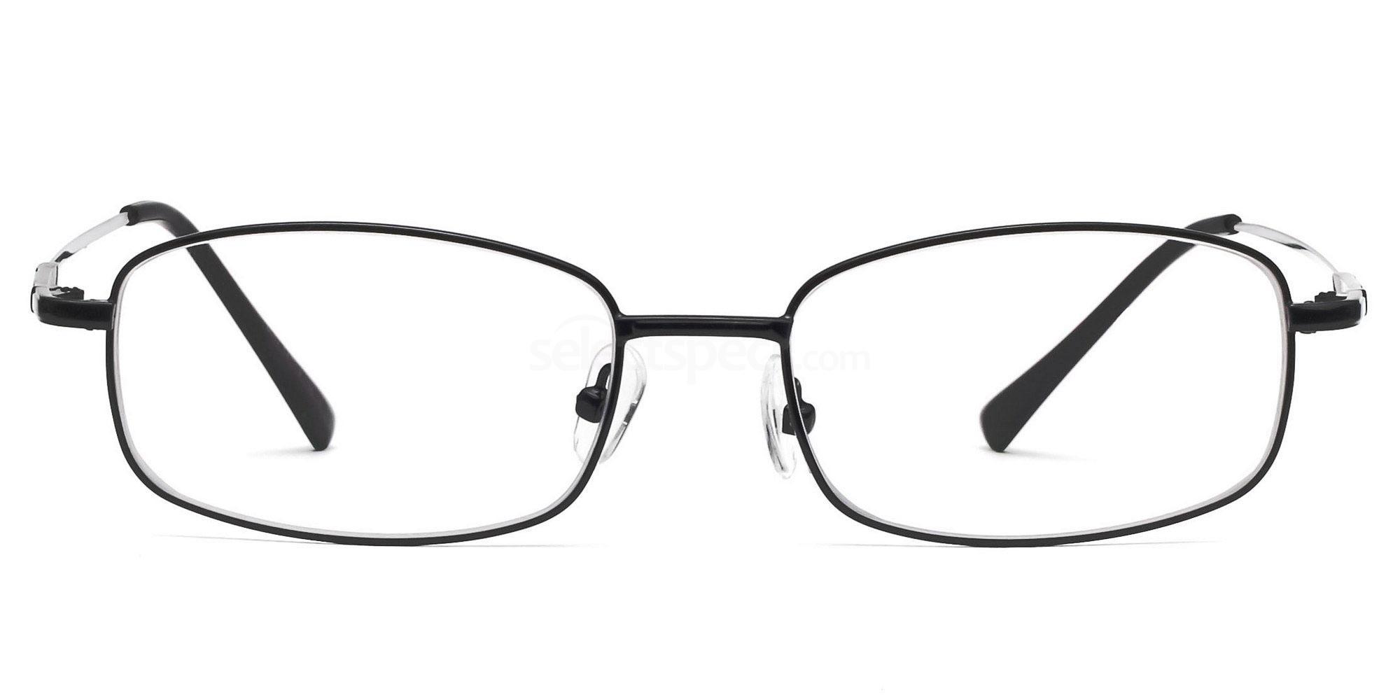 Black 8052 - Black Glasses, SelectSpecs