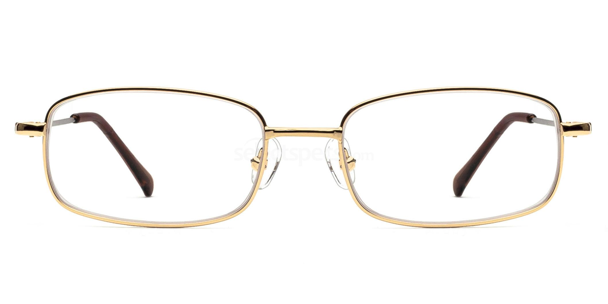 Gold 8052 - Gold Glasses, Savannah