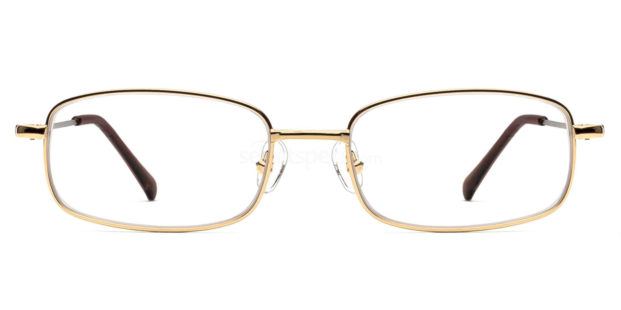 Gold 8052 - Gold Glasses, Savannah
