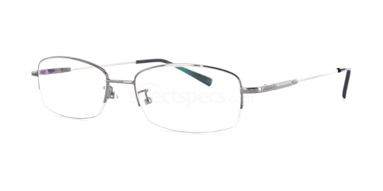 Gunmetal 8058 - Gunmetal Glasses, Savannah