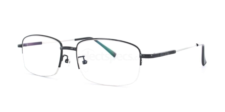 Black 8056 - Black Glasses, Savannah