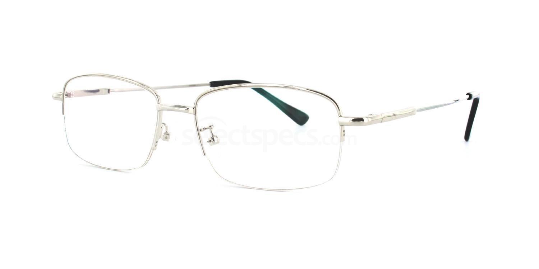 Silver 8056 - Silver Glasses, Savannah