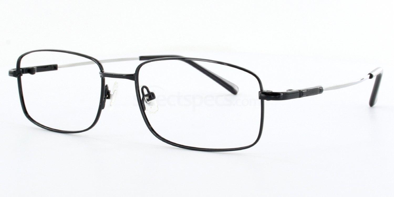 Black 2139 - Black Glasses, Savannah