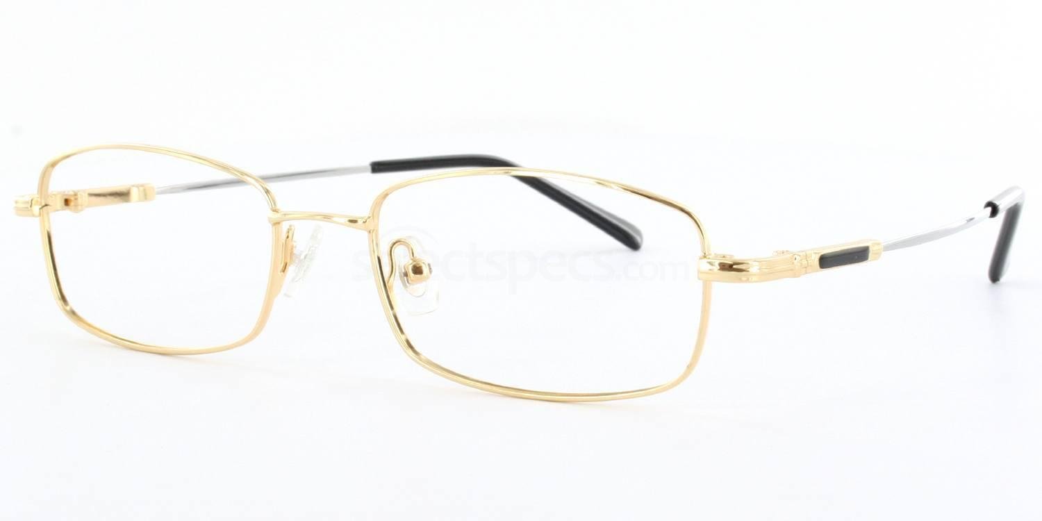 Gold 8165 - Gold Glasses, Savannah