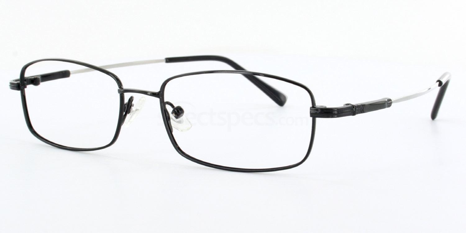Black 8165 - Black Glasses, Savannah