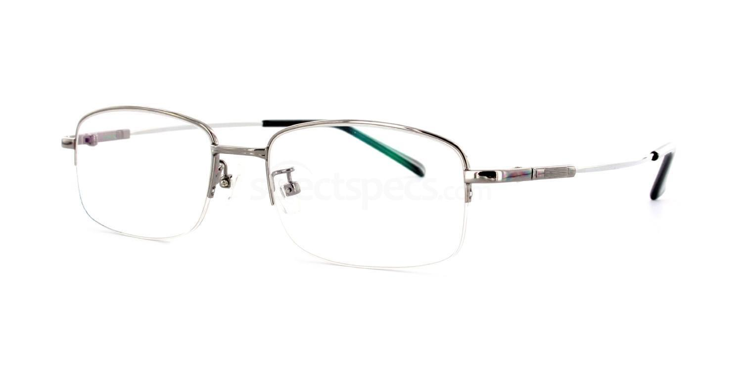 Gunmetal 8158 - Gunmetal Glasses, Savannah