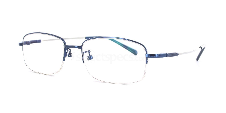 Blue 8158 - Blue Glasses, Savannah