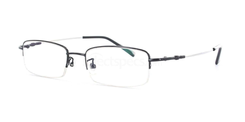Black 8137 - Black Glasses, Savannah
