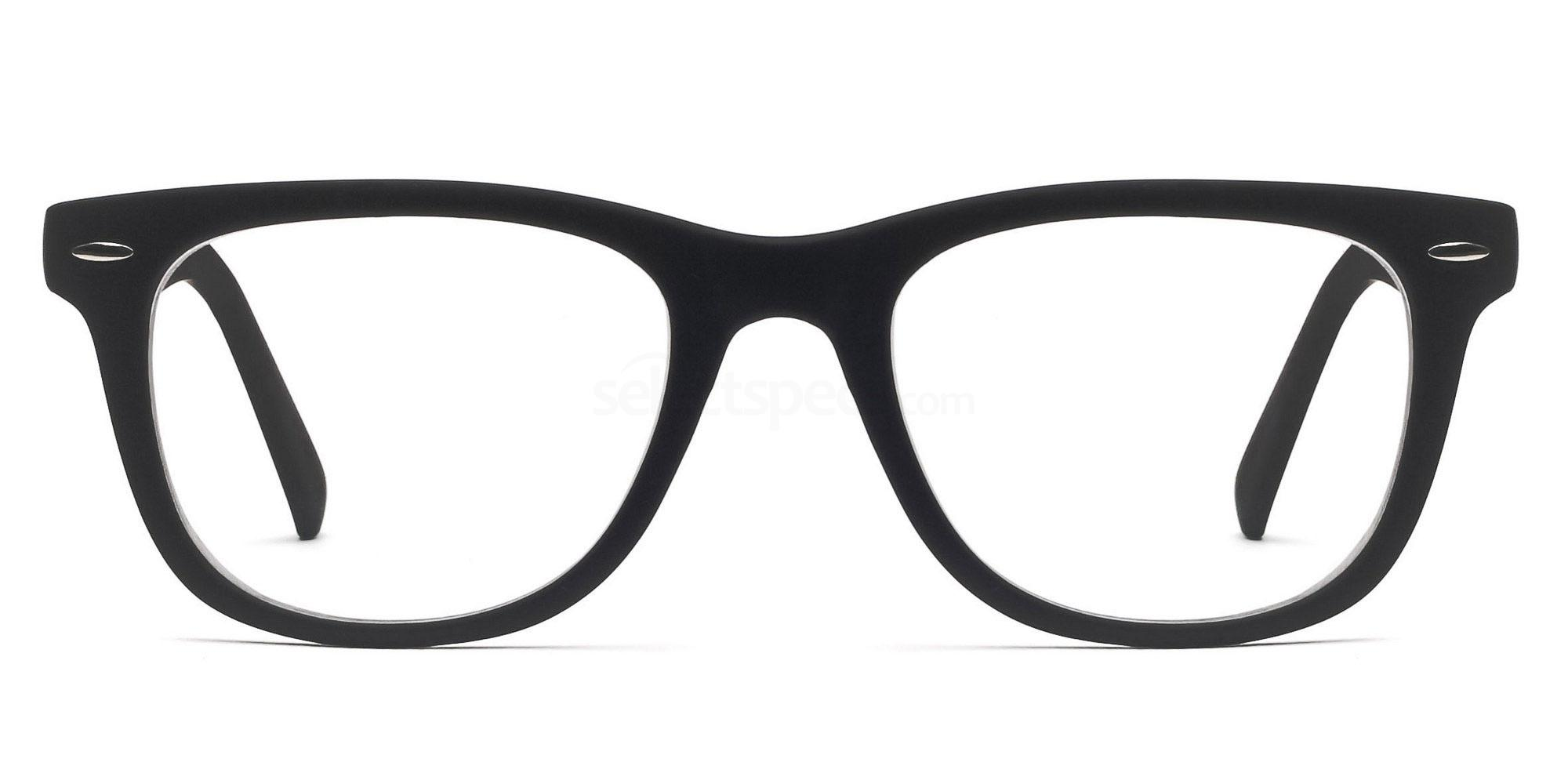 Savannah 8121 matte black glasses