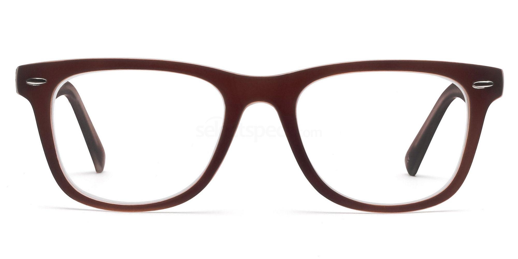 C8 8121 - Brown Glasses, Savannah