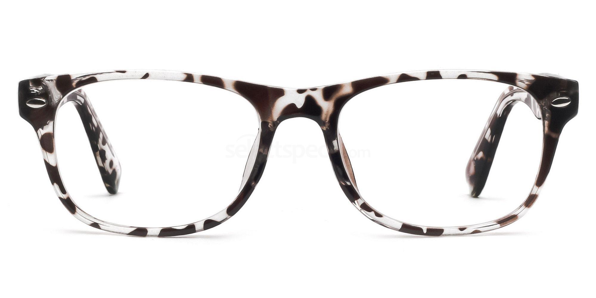 C03 P2383 - Animal Print Glasses, Savannah