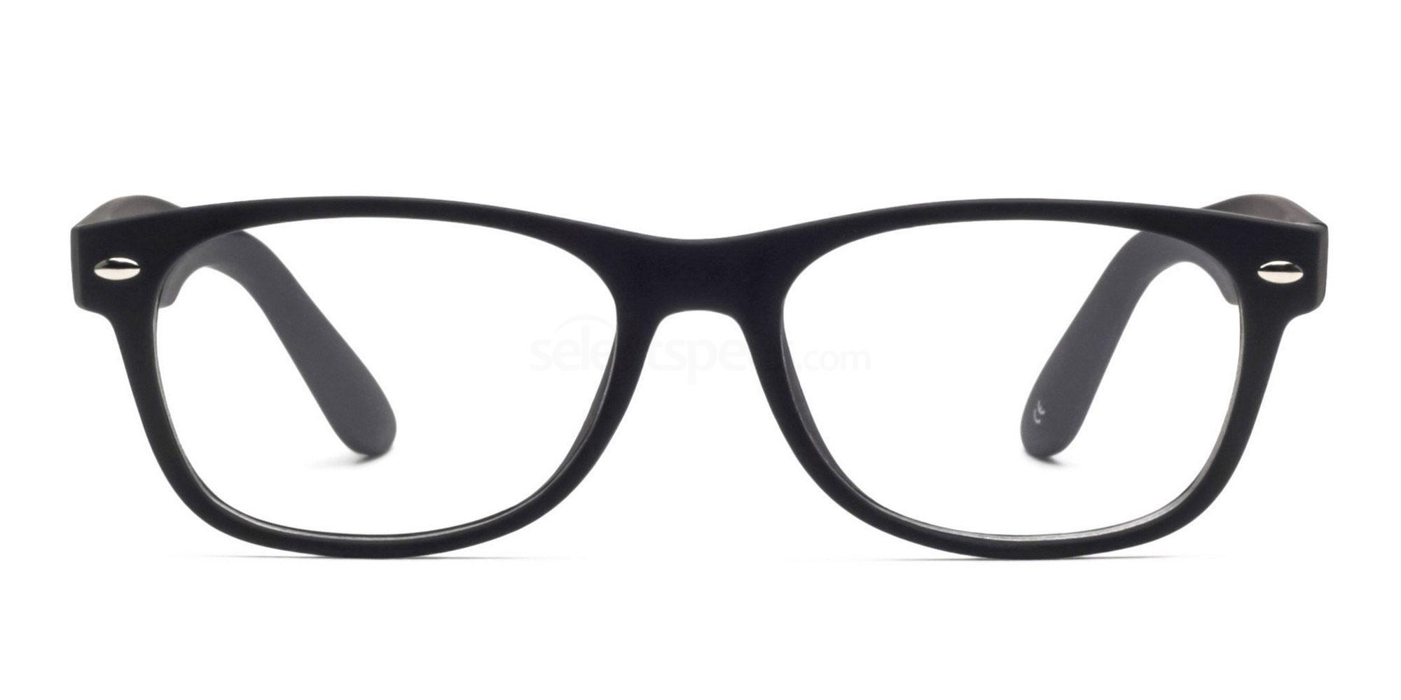 Black 8122 - Black Glasses, Savannah