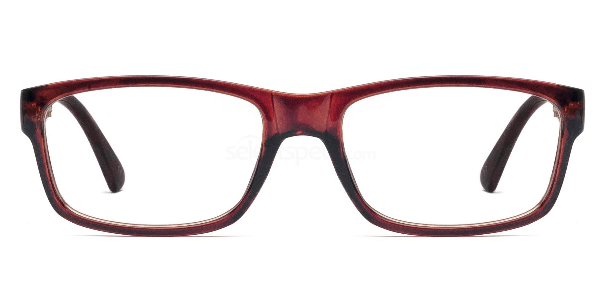 C006 5580 - Brown Glasses, Savannah