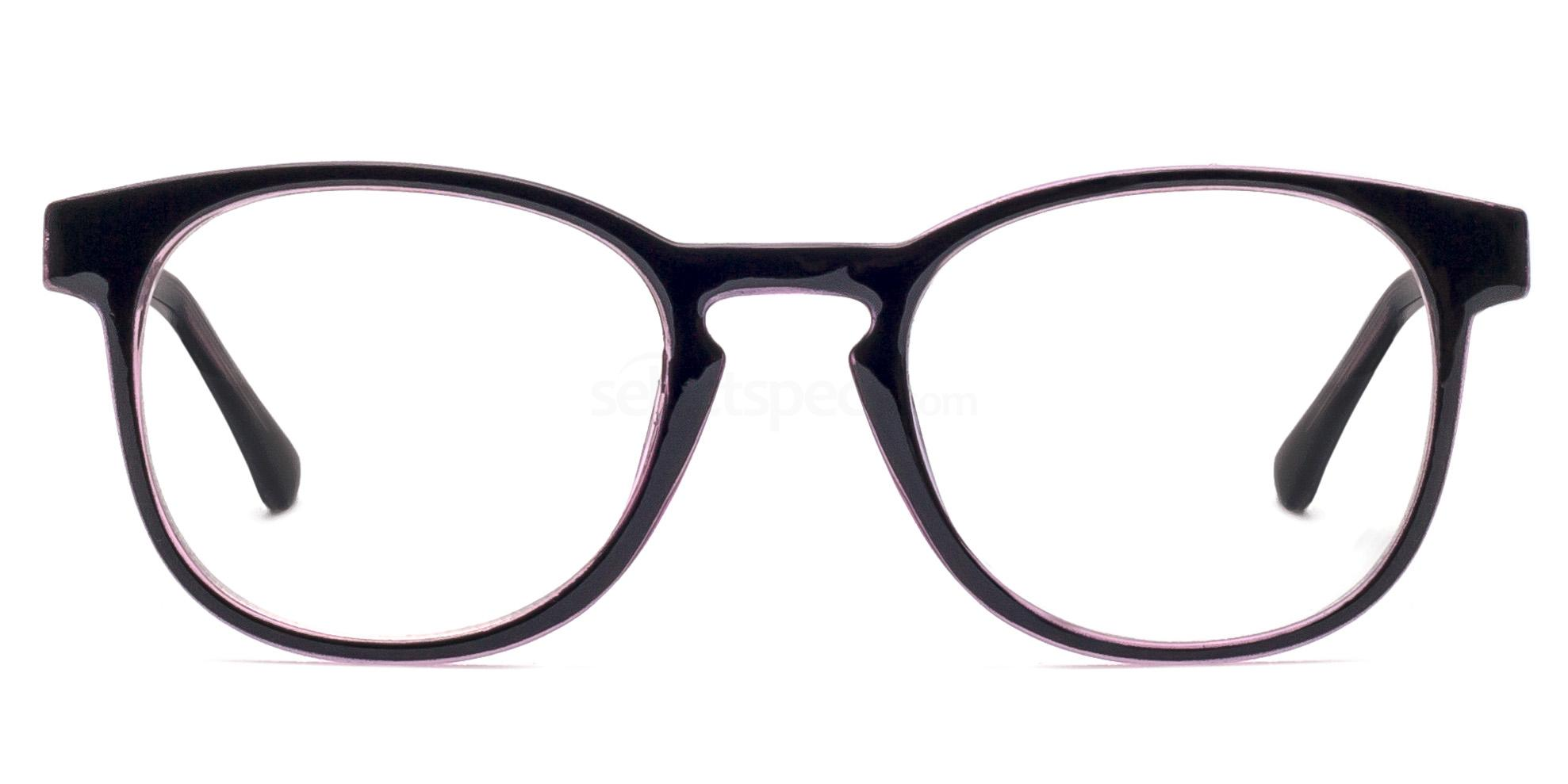 Purple 6309 Glasses, Savannah