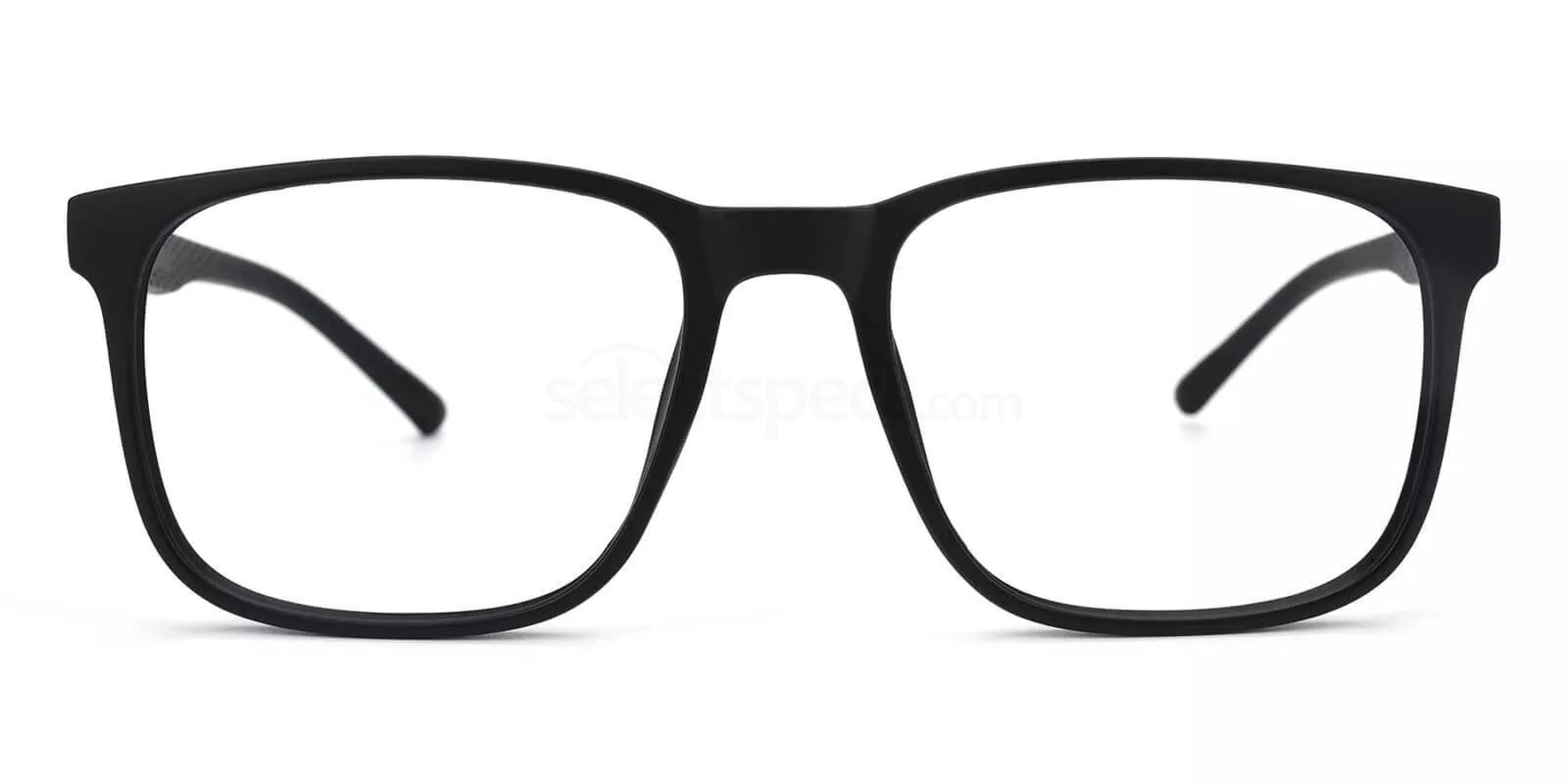 Black L055 Glasses, Savannah