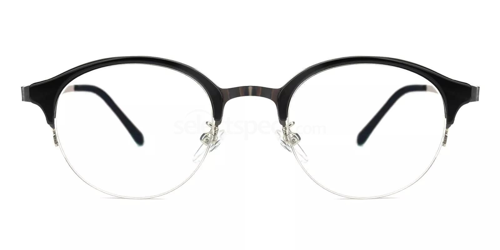 Black M8007 Glasses, SelectSpecs