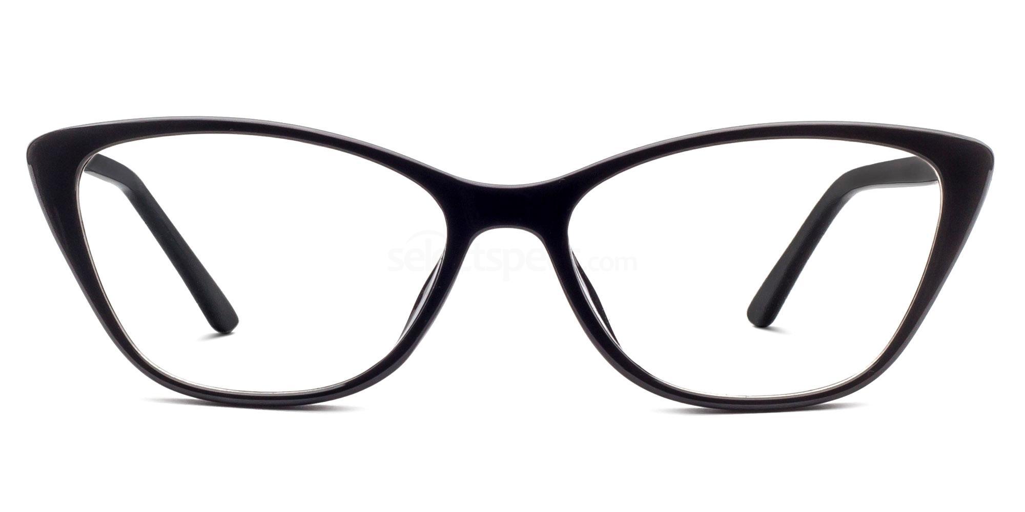 Black 6501 Glasses, Savannah
