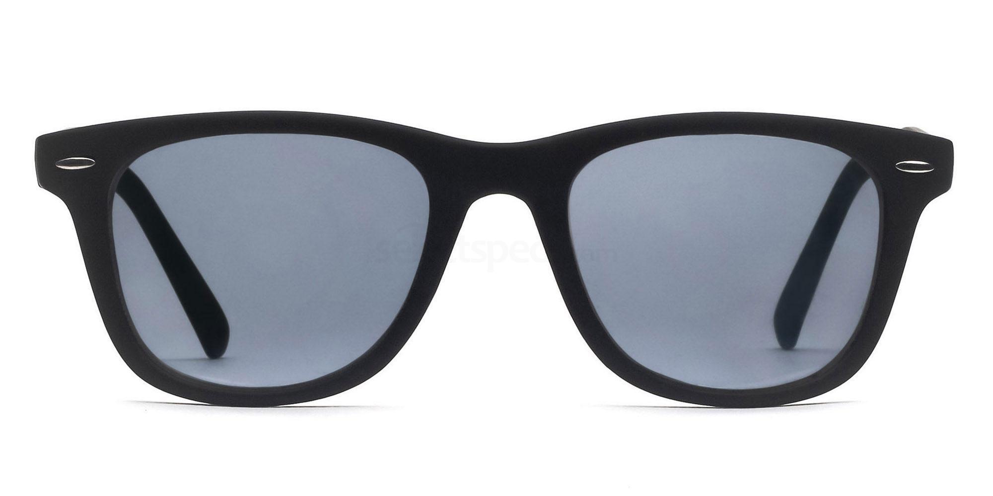 C1 8121 - Black (Sunglasses) Sunglasses, Savannah