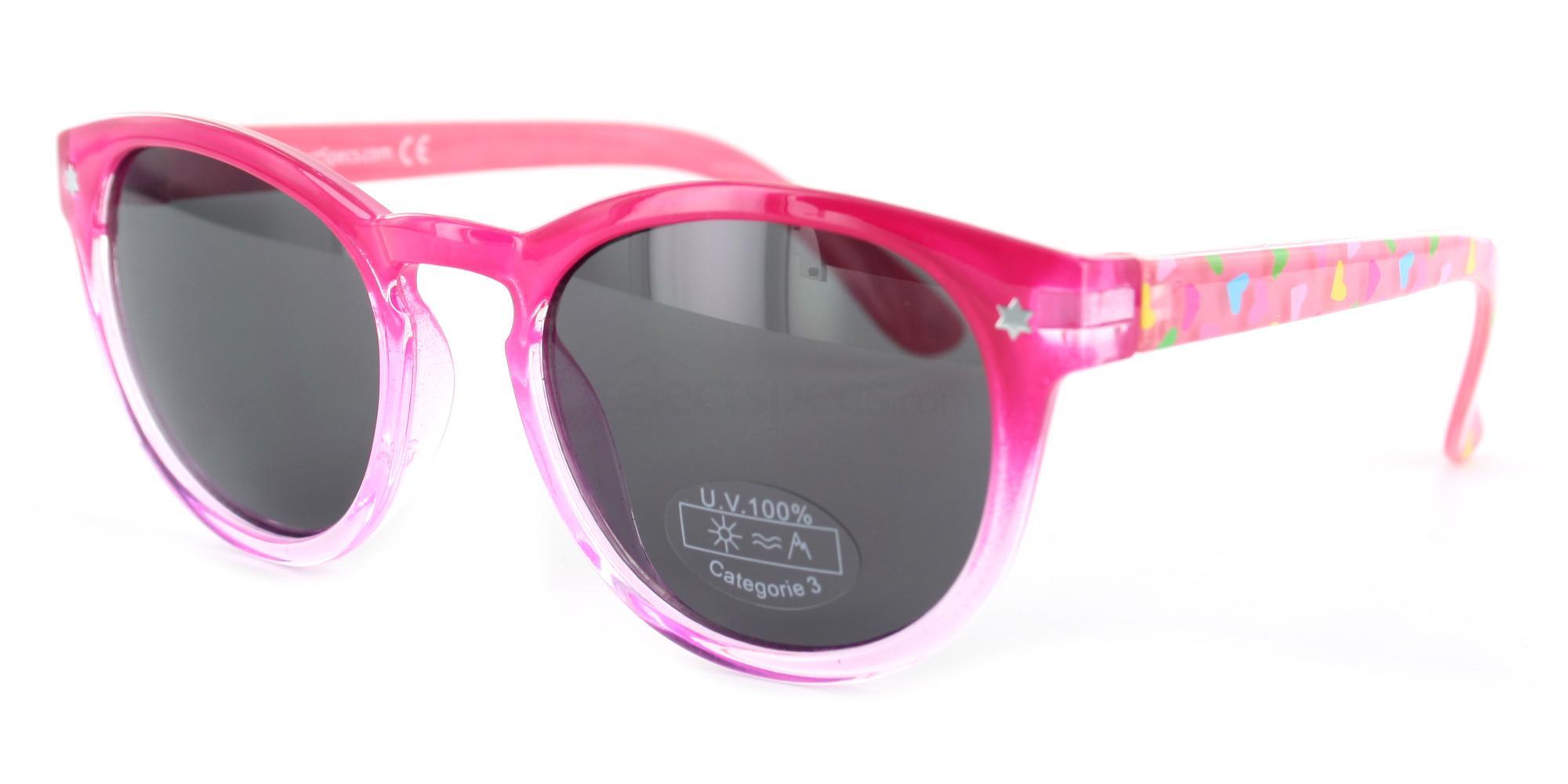 C06 KS04 - Round Sunglasses, Savannah KIDS