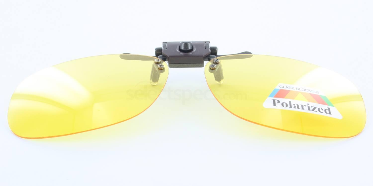 Yellow Polarized 3003 Sunglasses Clip-on (Large Polarized) Accessories, Sunglasses Clip-On