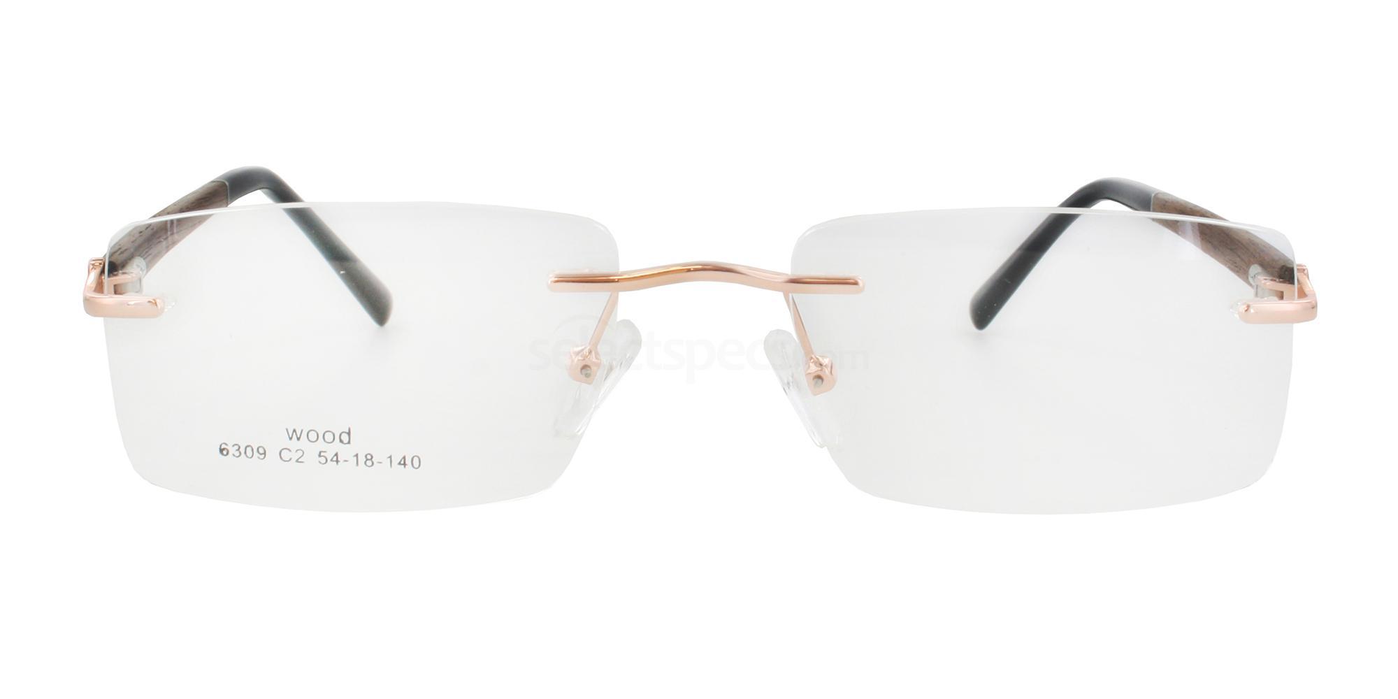 C2 6309 Glasses, Infinity