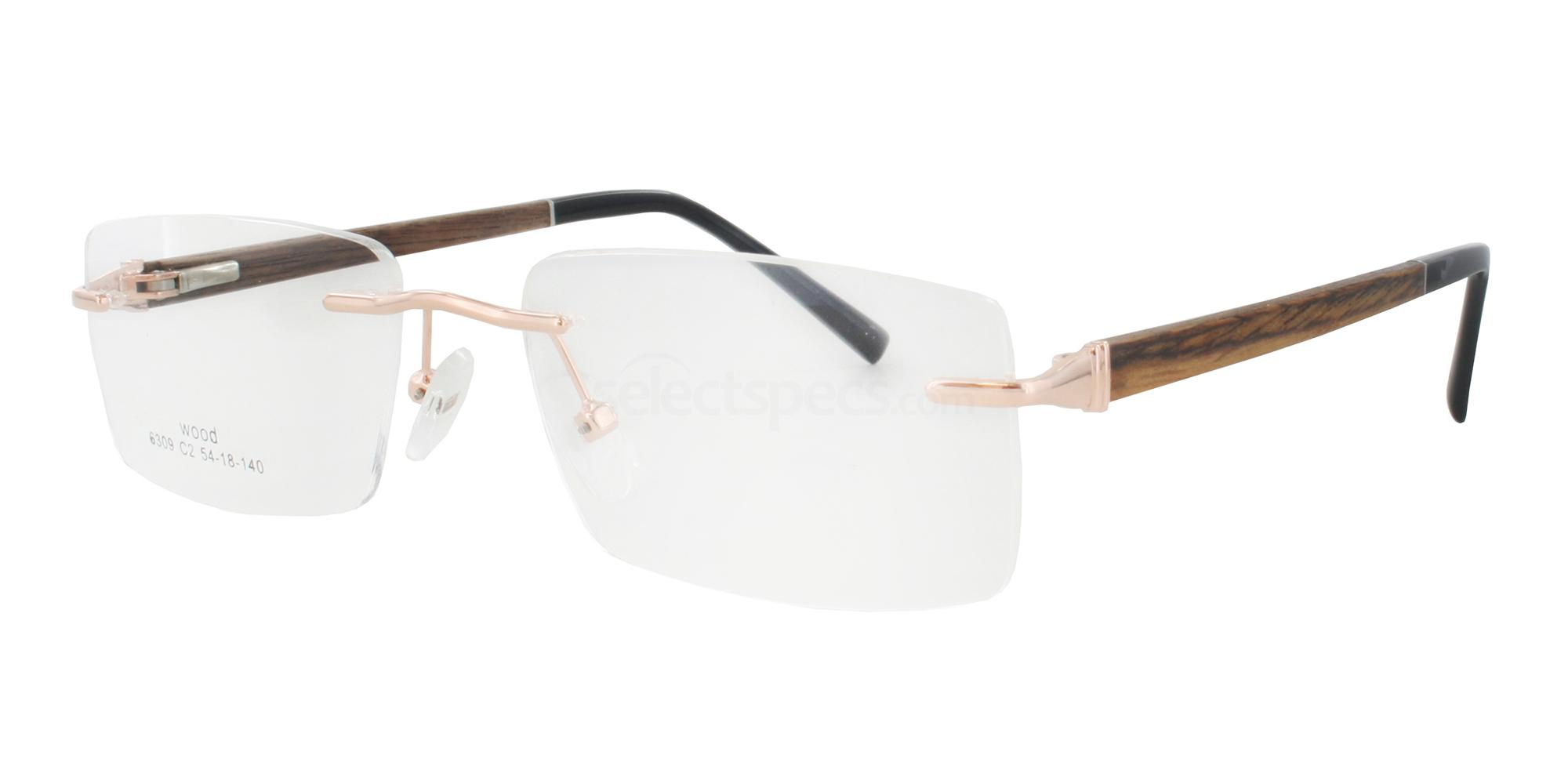 wooden eyewear prescription glasses Infinity 6309