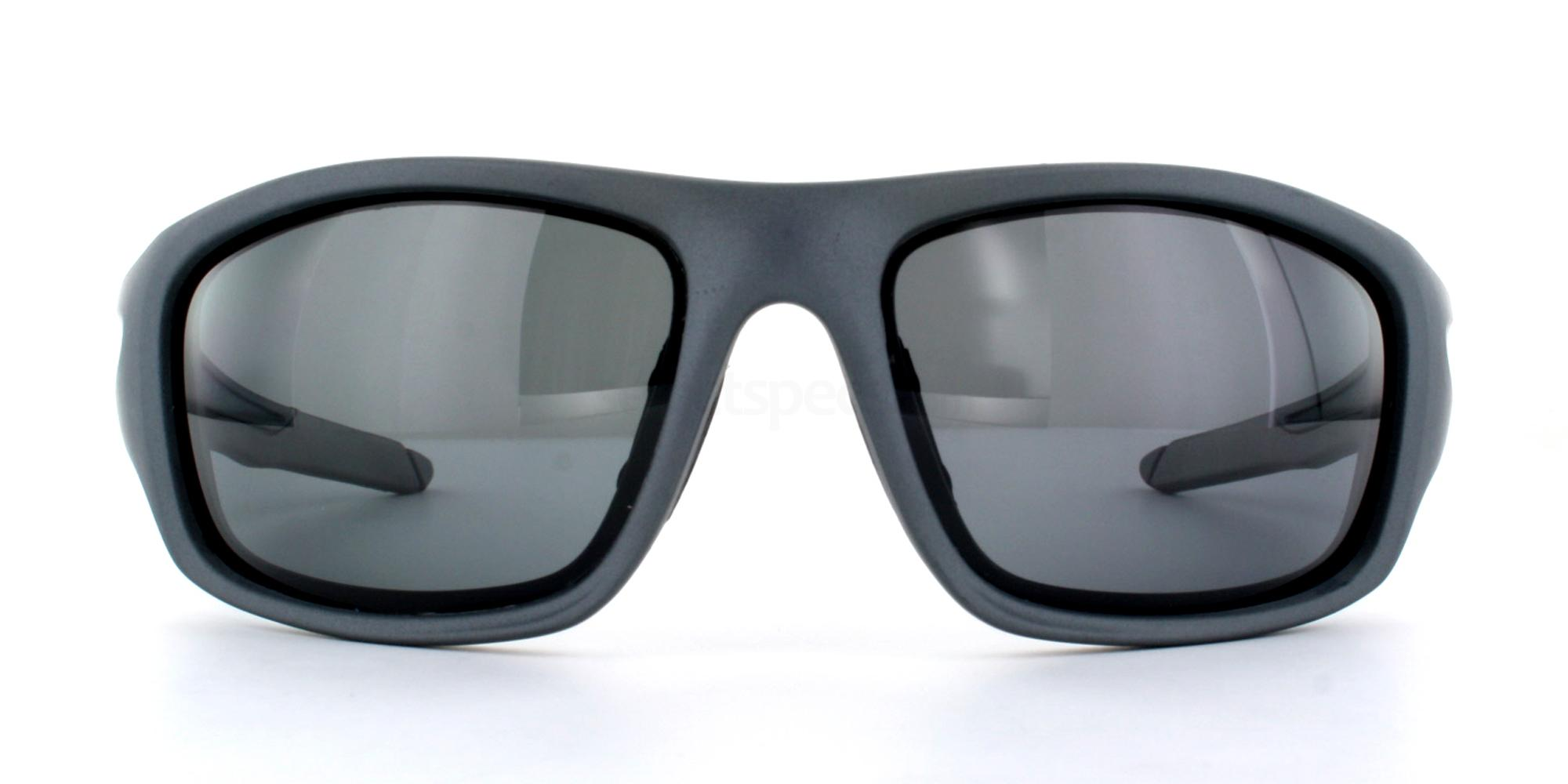 Matte Grey/Black +Grey Lens P5009 Sunglasses, Aero