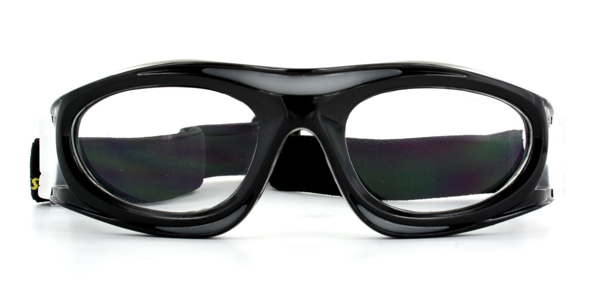 Black JH821 Sports Goggles, Aero
