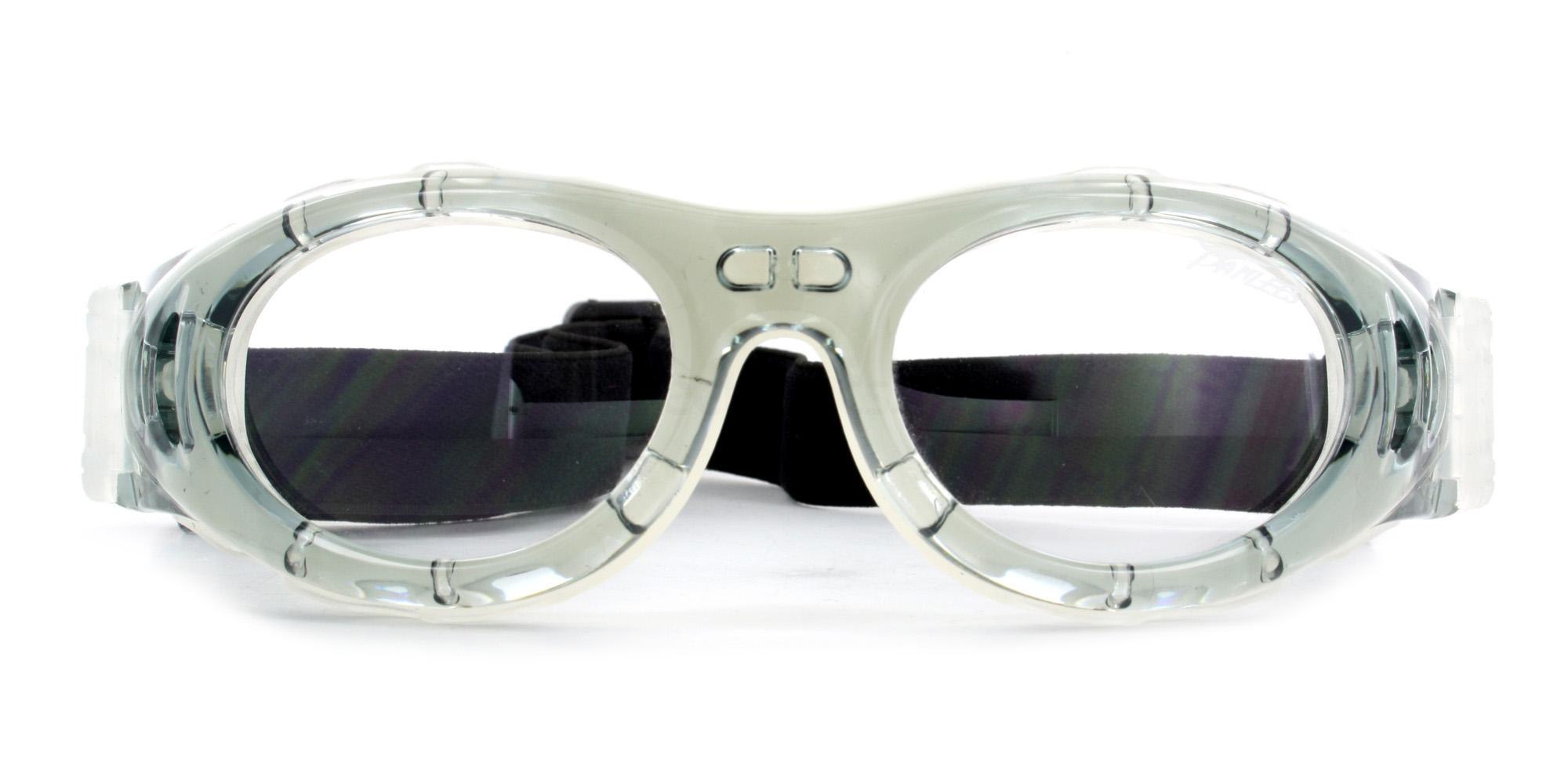 Clear Grey JH046 Sports Goggles, Aero