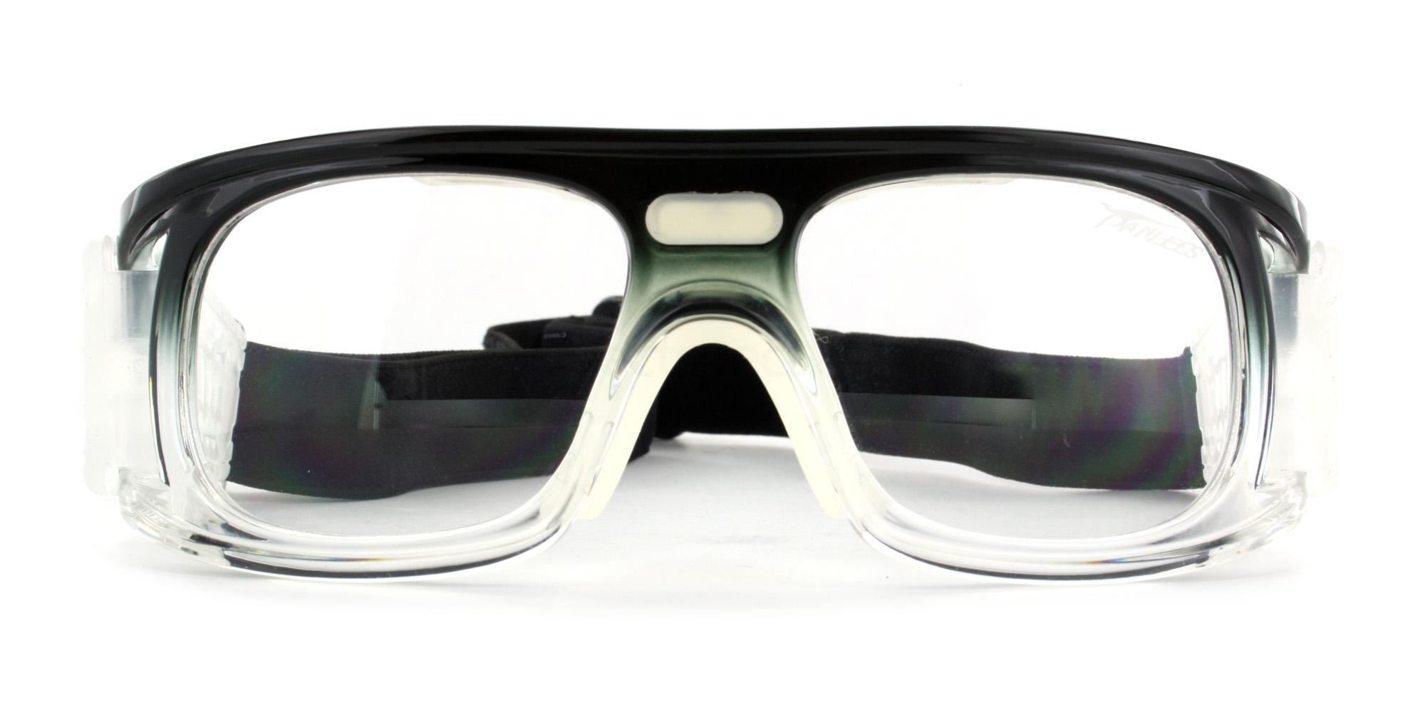 Black and Clear JH047 Sports Goggles, Aero