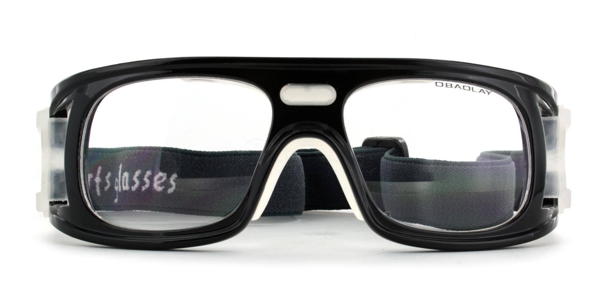 Black SP0867 Sports Goggles, Aero
