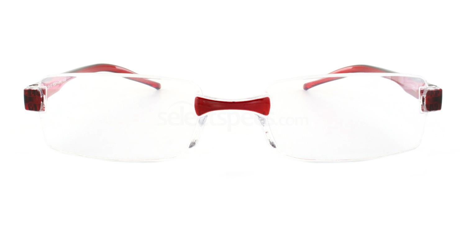 100 705 Reading Glasses - Burgundy Accessories, Optical accessories