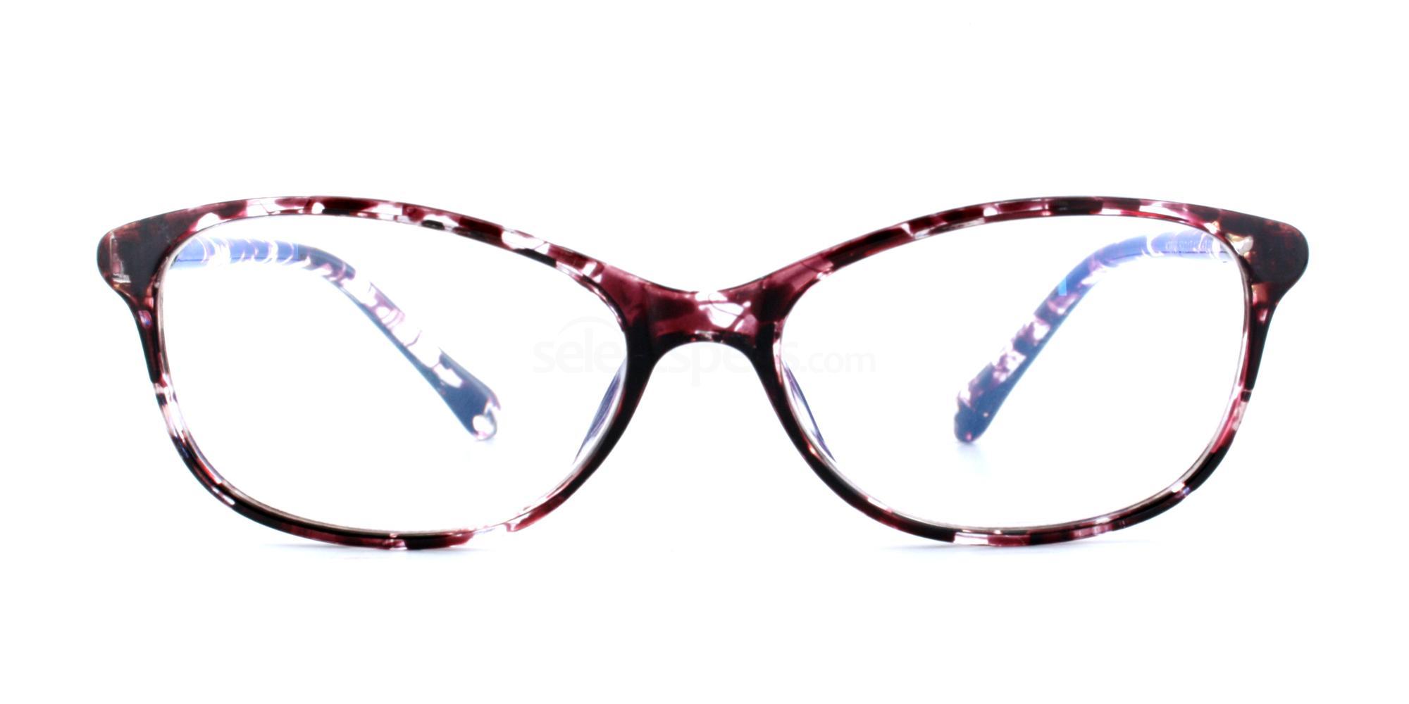 100 J2856 - Purple Demi Accessories, Optical accessories