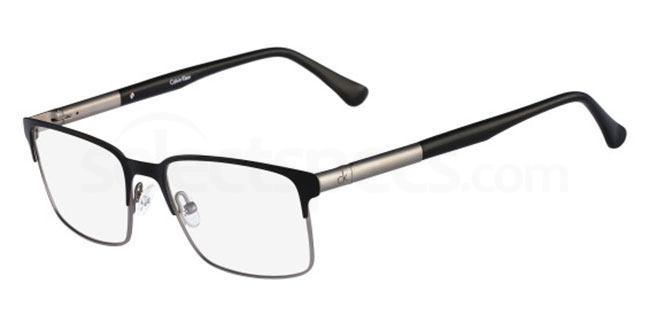 001 CK5409 Glasses, Calvin Klein Platinum