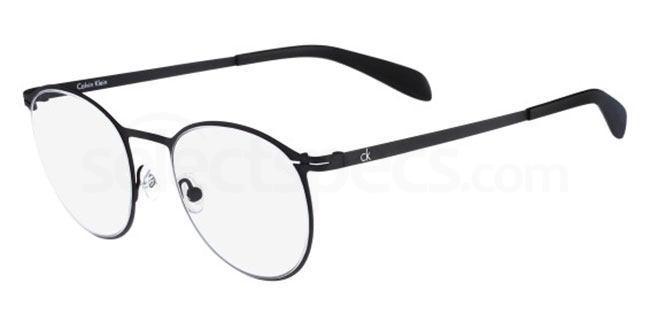 001 CK5412 Glasses, Calvin Klein Platinum
