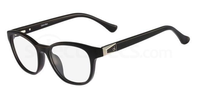 001 CK5860 Glasses, Calvin Klein Platinum