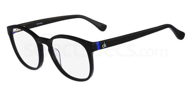 001 CK5880 Glasses, Calvin Klein Platinum
