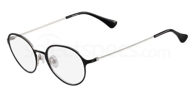 001 CK5433 Glasses, Calvin Klein Platinum