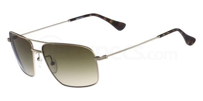 714 CK2142S Sunglasses, Calvin Klein Platinum