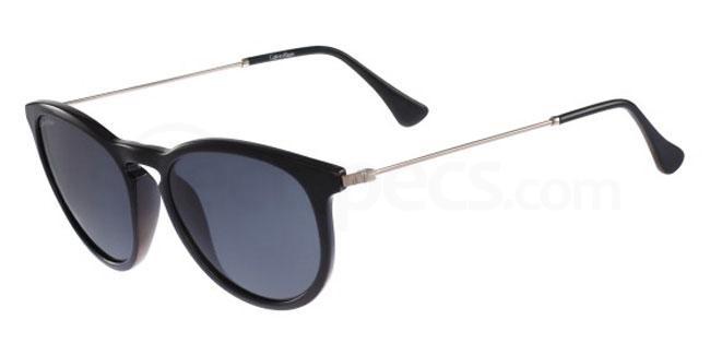 001 CK3174S Sunglasses, Calvin Klein Platinum