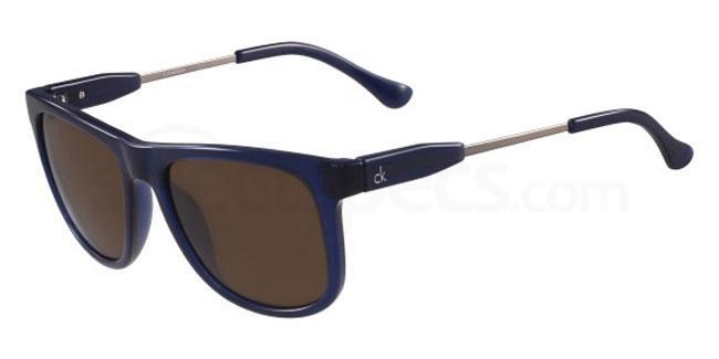 438 CK3186S Sunglasses, Calvin Klein Platinum